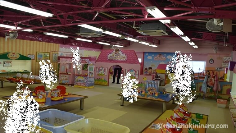 東条湖おもちゃ王国のメルちゃんのおへや