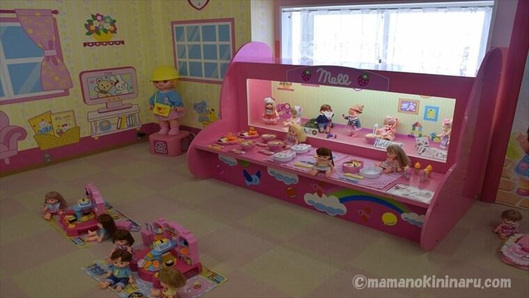 東条湖おもちゃ王国にあるメルちゃんのおへや