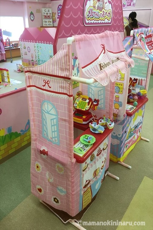 東条湖おもちゃ王国のアンパンマンのおもちゃ